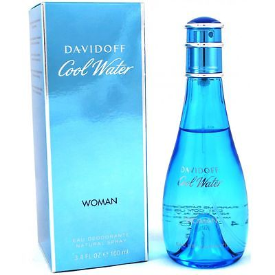 Davidoff Cool Water Woman - Women 100 ml Deodorant Deo Spray