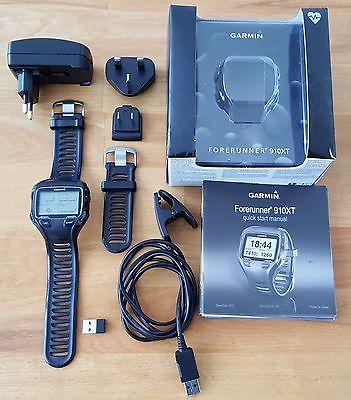 Garmin Forerunner 910XT GPS Triathlonuhr Lauf Rad Schwimm u a