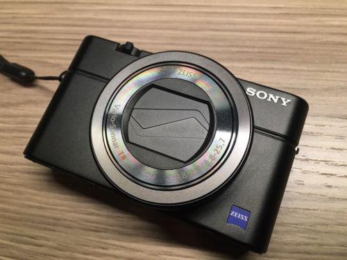 Sony DSC-RX100 III 3 M3 Digitalkamera (20 MP, 3 Zoll Display, Full HD) schwarz