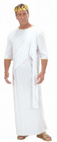 Widmann 71792 - Kostüm Toga, unisex, Größe M, weiß