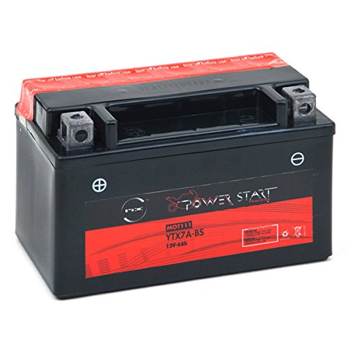 NX - Motorrad Batterie YTX7A-BS / GTX7A-BS 12V 6Ah - Akku(s)