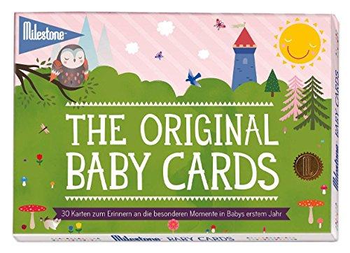 Milestone Baby Cards für die einzigartigen Momente im 1. Lebensjahr