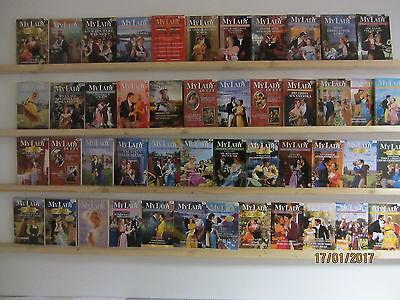 40 Bücher Taschenbücher historische Romane My Lady romantische Romane