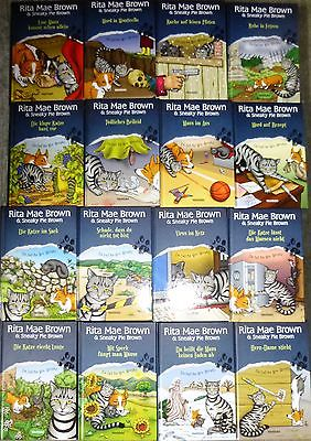 Krimi, Rita Mae Brown, Mrs. Murphy - Reihe, 16 Romane, Weltbild, Hardcover
