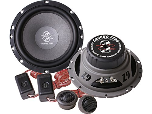 Ground Zero Titanium Lautsprecher Kompo-System 320 Watt VW Passat B6 B7 (3C, 3CC) 2005-2012 Einbauort vorne : Türen / hinten : --