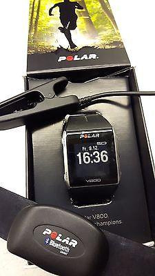 Polar V800 schwarz GPS Sportuhr Mulisport Bundle mit Brustgurt