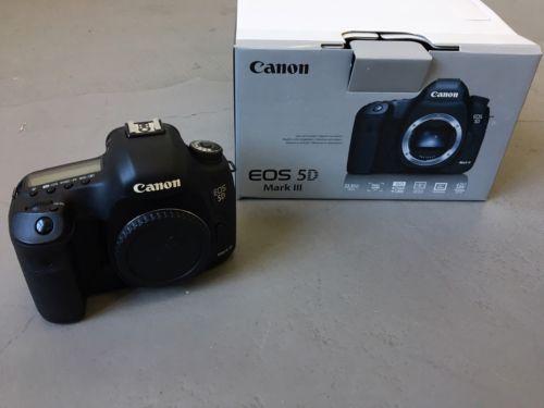 Canon EOS 5D Mark III MK 3 22.3 MP SLR Digitalkamera (Nur Gehäuse) von Privat