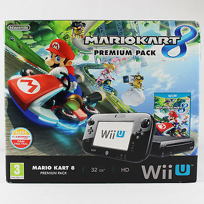 Nintendo Wii U - Konsole - Premium Pack- Mario Kart 8 - 32 GB -