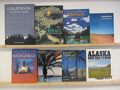 20 Bücher Bildbände Länder und Städte der Welt Fotobildbände Reisebildbände