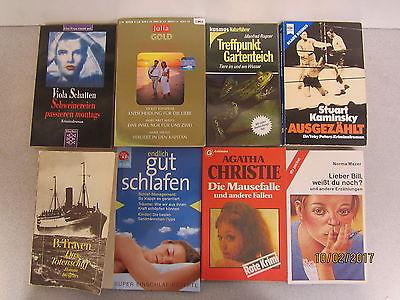 131 Bücher Taschenbücher verschiedene Verlage