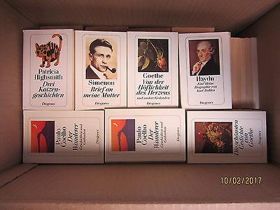 163 Bücher Taschenbücher Diogenes Verlag Diogenes Mini Taschenbücher