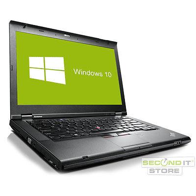 Lenovo ThinkPad T430 Notebook Intel Core i5 2x 2,6 GHz 8 GB RAM 320 GB HDD Win10