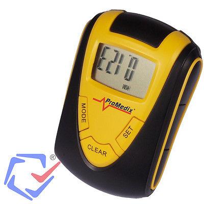Pedometer Schrittzähler Schrittmesser Entfernungsmesser Kalorienzähler Stoppuhr