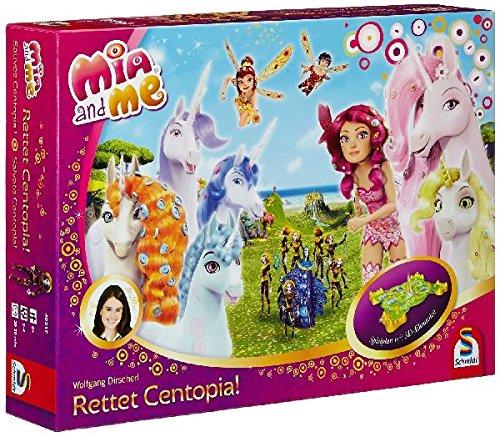 Schmidt Spiele 40517 - Mia und Me, Rettet Centopia! - Kinderspiel