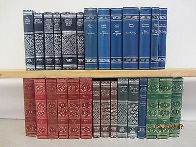 28 Bücher Romane Klassiker der Weltliteratur in edlem Kunstledereinband