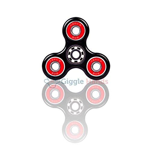 Giggle Hands Fidget Spinner Unruhe Kreisel Spielzeug Stressreduzierer - Fidget Toy perfekt für ADS, ADHS, Angstzustände und Autismus Erwachsene Kinder