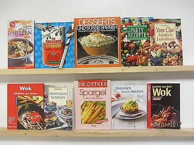 69 Bücher Kochbücher nationale und internationale Küche