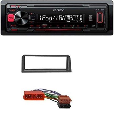 Kenwood KMM-202 MP3 USB AUX Autoradio für Citroen AX / Peugeot 106