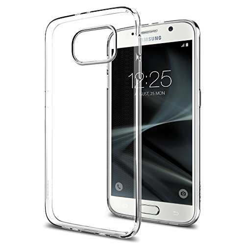 Samsung Galaxy S7 Hülle, Spigen® [Liquid Crystal] Ultra Dünn [Crystal Clear] Transparent Soft-Flex Handyhülle / Bumper-Style Premium-TPU Silikon / Perfekte Passform / Durchsichtige Schutzhülle für Samsung Galaxy S7 Case, Samsung Galaxy S7 Cover, Samsung S