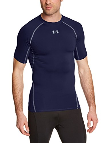 Under Armour Funktionsshirt Heatgear Herren Fitness - Funktionsshirts, Midnight Navy, XXL