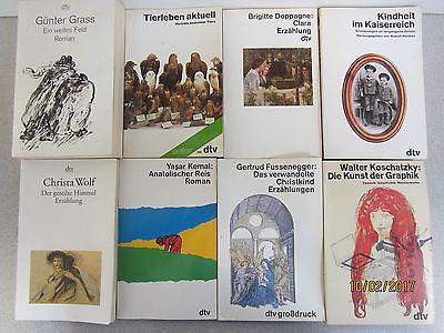 93 Bücher Taschenbücher dtv Verlag weiße