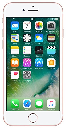 Apple iPhone 7 Smartphone (11,9 cm (4,7 Zoll), 32GB interner Speicher, iOS 10) rose-gold