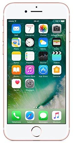 Apple iPhone 7 Smartphone (11,9 cm (4,7 Zoll), 32GB interner Speicher, iOS 10) rose-gold