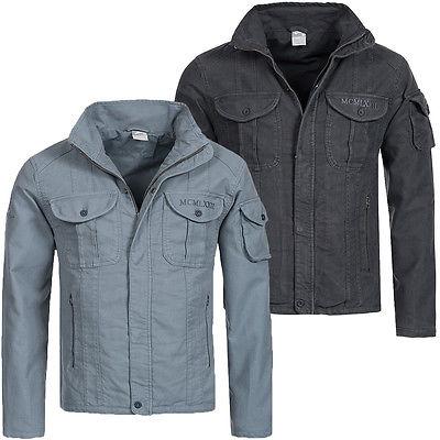 Nike Spirit Mens Denim Jacket Übergangsjacke Herren Freizeit Jacke Jeans Look