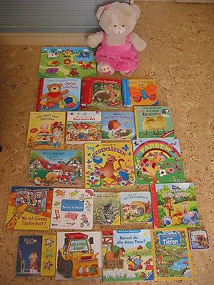 Kleinkinder Buch Bücher Paket Holzpuzzle Kinder Fühlbuch Klappenbuch Klappen