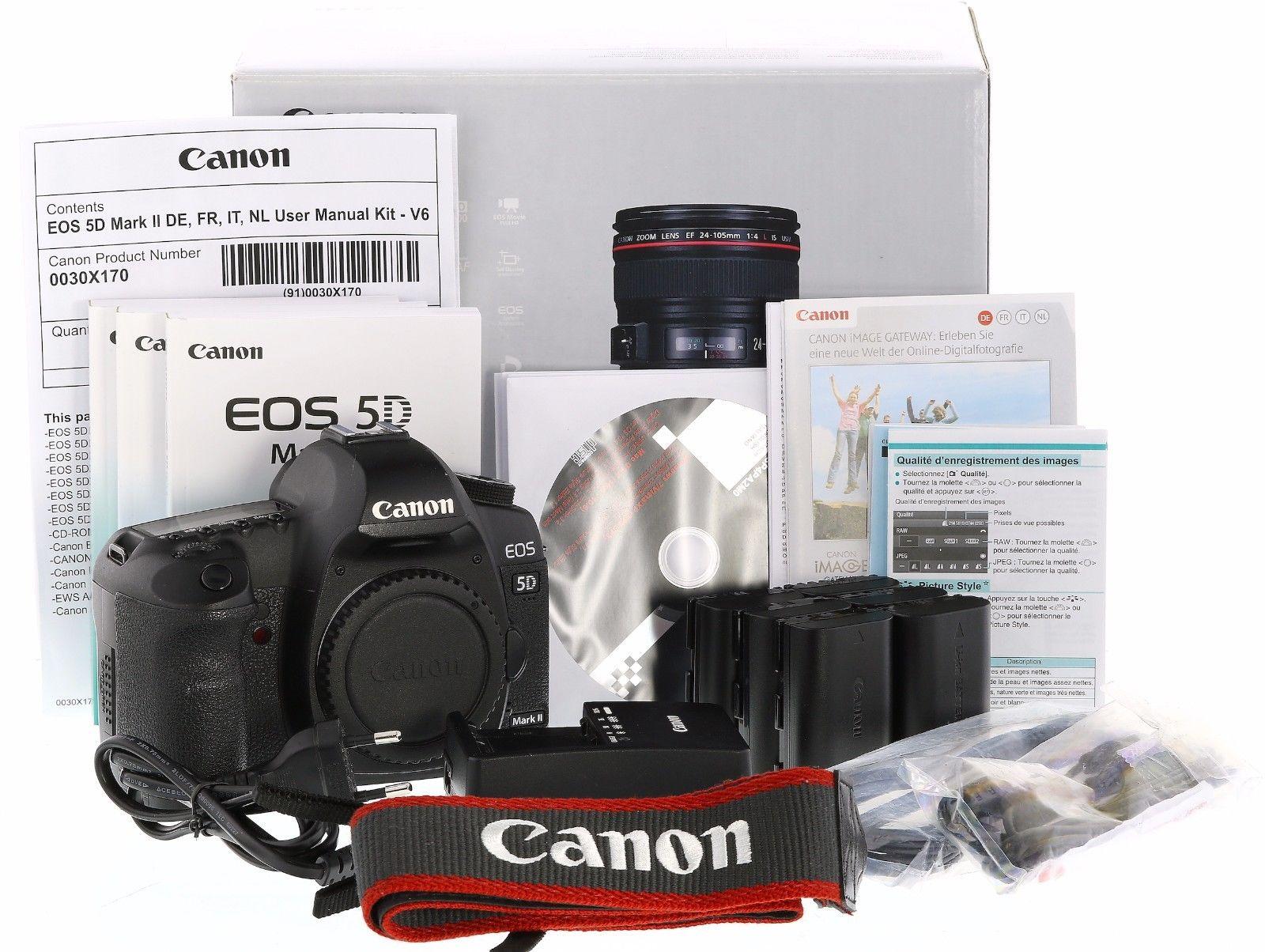 Canon 5D Mark II Body NUR 16542 Auslösungen