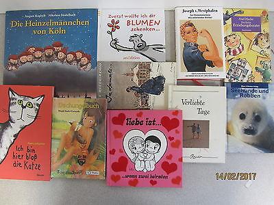 90 Bücher dünne gebunde Bücher Romane Sachbücher Erzählungen Novellen Paket 2