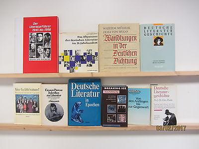 42 Bücher Literaturgeschichte Literaturführer Deutsche Literaturgeschichte