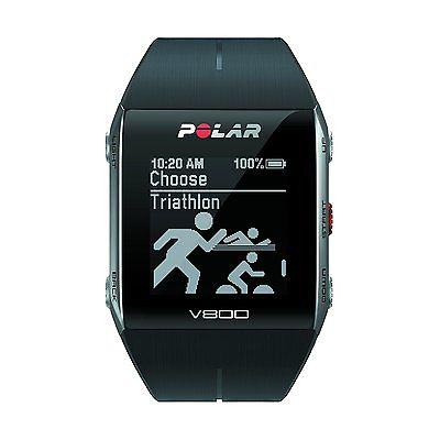 POLAR Trainingcomputer V800 GPS Uhr mit Brustgurt G15