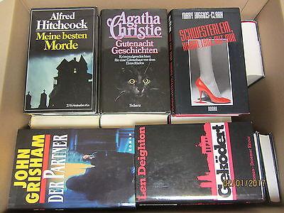 40 Bücher Romane Krimi Thriller Psychothriller Kriminalromane Detektivromane