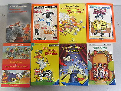105 Taschenbücher Kinderromane erstes Lesen junge Leser Kinderbücher