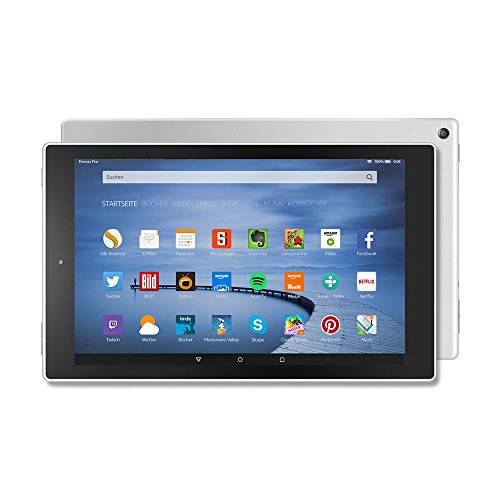 Fire HD 10-Tablet, 25,65 cm (10,1 Zoll), HD-Display, WLAN, 16 GB (Weiß) - mit Spezialangeboten