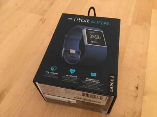 Fitbit Surge Large GPS Fitnesstracker Sport,Herzfrequenz,Schritt,Kalorienzähler