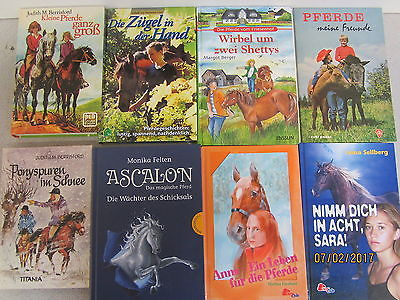 62 Bücher Pferderomane Jugendromane Abenteuerromane Jugendbücher Pferdebücher