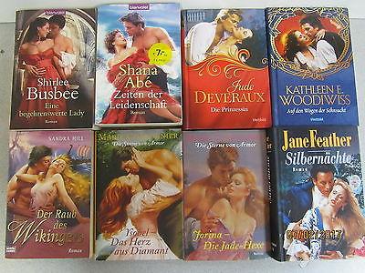 45 Bücher Romane historische Liebesromane romantische Romane