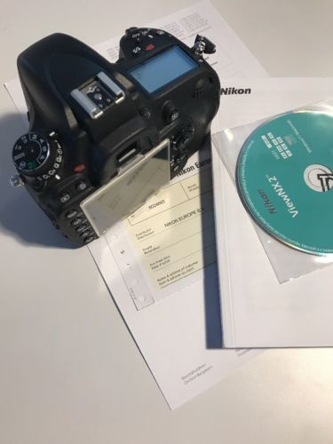 Nikon D D610 24.3 MP SLR-Digitalkamera - Schwarz TOP - 5.000 Auslösungen