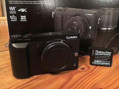 Panasonic LUMIX GX80 16.0MP Digitalkamera - Schwarz (Nur Gehäuse)