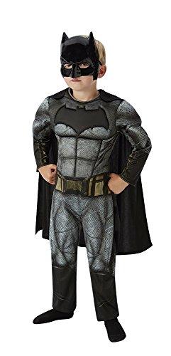Rubies 3620423 - Batman Deluxe Child Kostüm, schwarz
