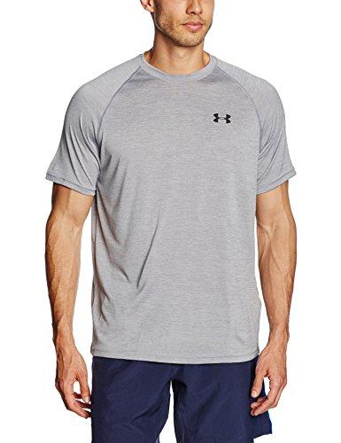 Under Armour Ua Tech Ss Tee Herren Fitness - T-Shirts & Tanks, True Grey/Steel, M