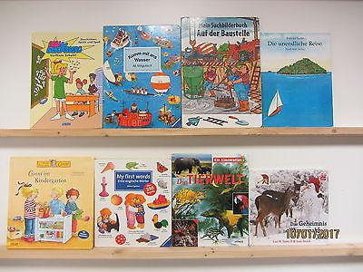 46 Bücher Kinderbücher Kleinkinderbücher Bilderbücher großformatige Bücher