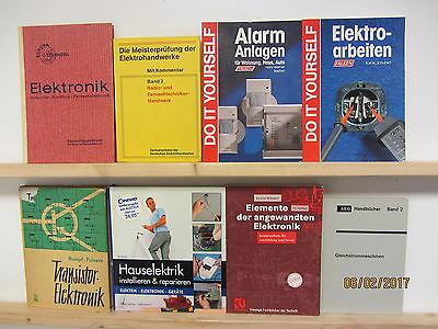 45 Bücher Elektronik Elektrik Hauselektrik Elektrotechnik Gleichstrom