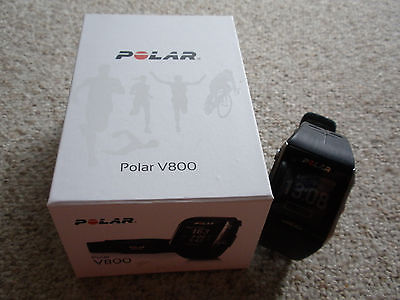 Polar V800 schwarz; top Zustand; wie neu
