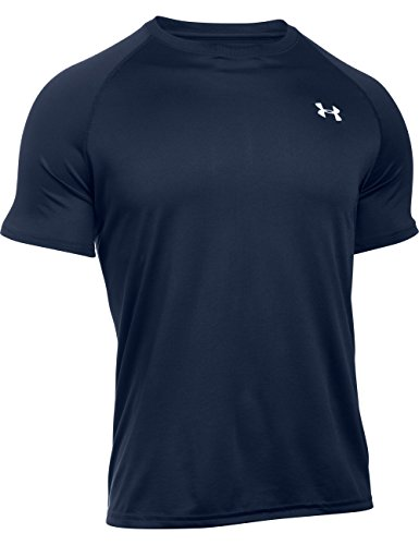 Under Armour Ua Tech Ss Tee Herren Fitness - T-Shirts & Tanks, Midnight Navy/White, L