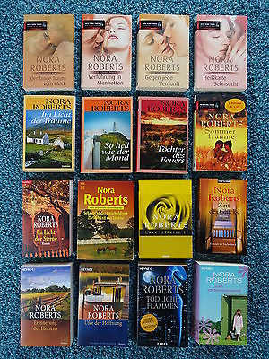 Bücherpaket 24 Frauenromane Liebesromane: Nora Roberts Sammlung