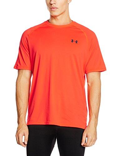 Under Armour Ua Tech Ss Tee Herren Fitness - T-Shirts & Tanks, Bolt Orange, S