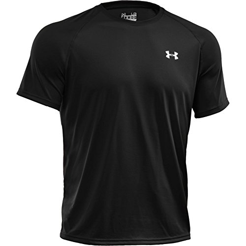 Under Armour Ua Tech Ss Tee Herren Fitness - T-Shirts & Tanks, Black Twist, M